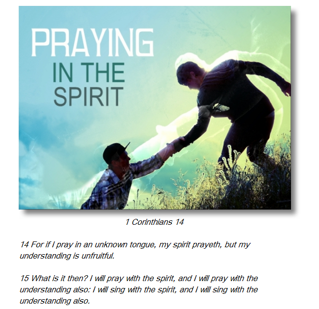 Praying In The Holy Ghost